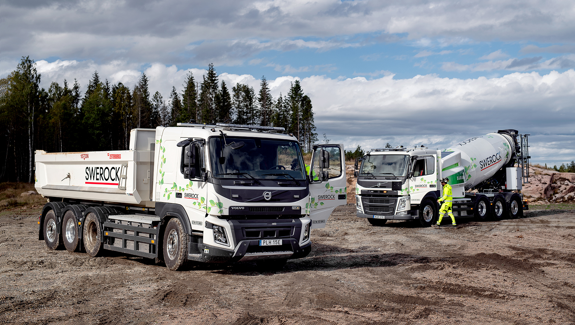 Volvo Trucks begins customer testing of all-electric trucks for the construction industry